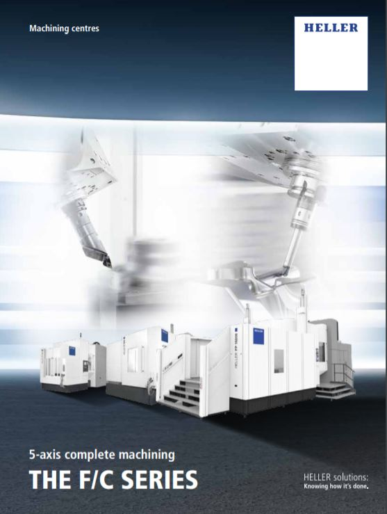 The F/C Series: 5-axis complete machining - Brochure