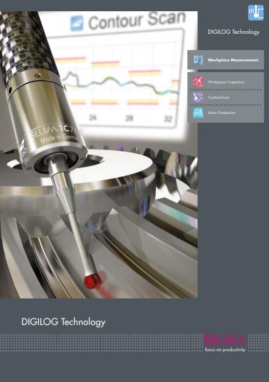 Blum Novotest Digilog brochure - Brochure
