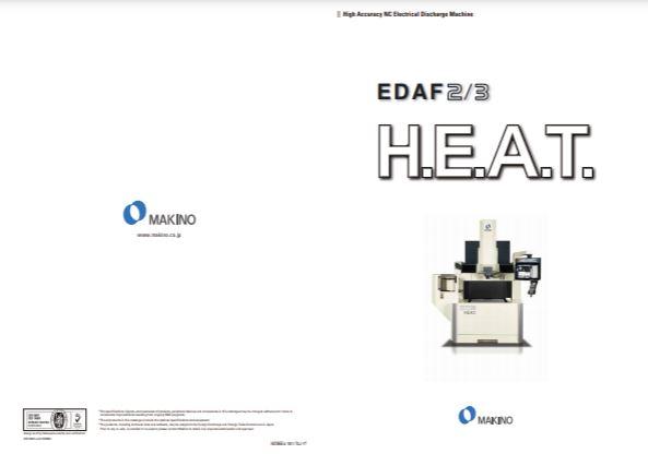 Makino Die Sinking EDM machine brochure - Brochure