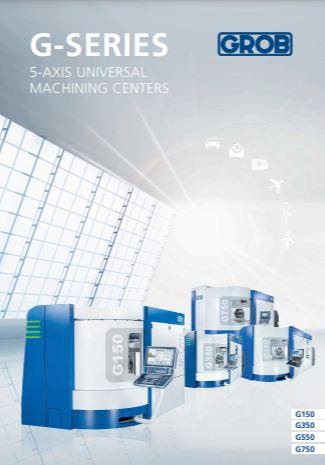 GROB universal milling machine brochure - Brochure