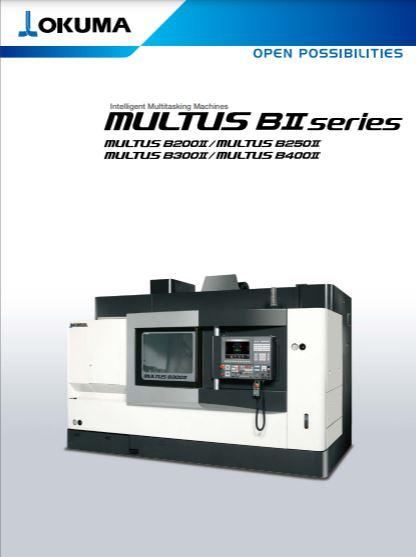 Intelligent multitasking machines brochure from Okuma - Brochure