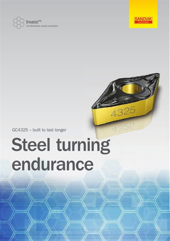 Steel Turning Endurance (GC4325) - Brochure