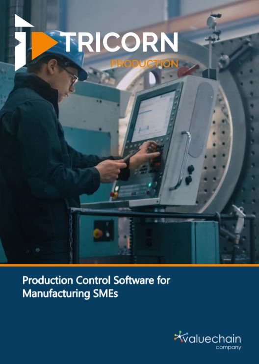 Production control software for manufacturing SMEs - Brochure